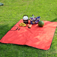 2017 Promotional foldable picnic blanket /portable picnic mat wholesale / cheap custom picnic blanket