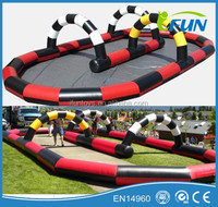 Portable inflatable track/inflatable track for sale/cheap inflatable track