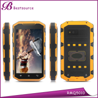 wholesale 5.0 inch android dual sim smart phone walkie-talkie NFC waterproof IP68 rugged phone