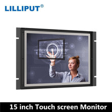Open Frame 15 inch HDMI Monitor with Touch VGA HDMI