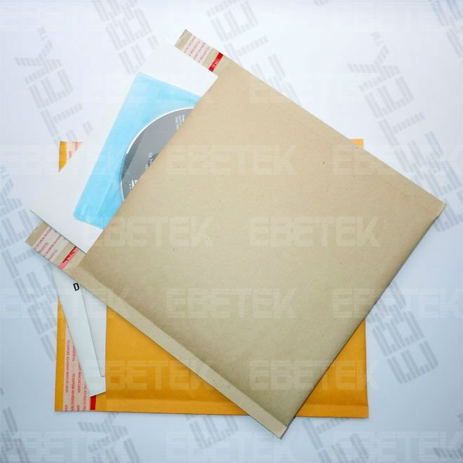 Durable and printed logo Kraft bubble envelope bags