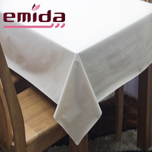 2017 Emida100% Vinyl Pvc Table Cloth With Non-woven Backing, Household Tablecloth/washable Vinyl Peva Indoor Table Cloths