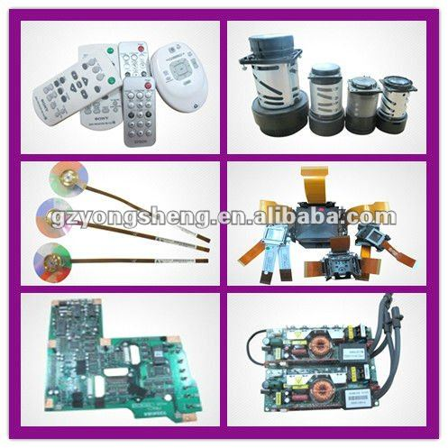 All projector brands spare part for power supply projector ballast and mainboard