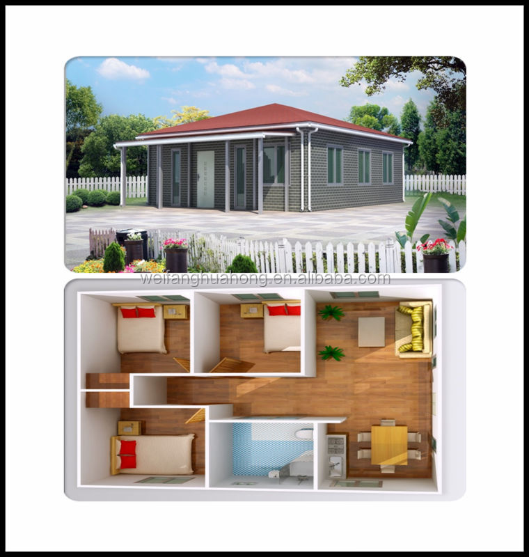 2015 Hot promotion new technology wooden house model kit