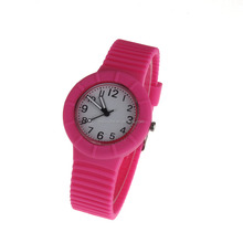 Custom cartoon slap watch colorful slap silicon watch with different cartoon kids slap silicone watch