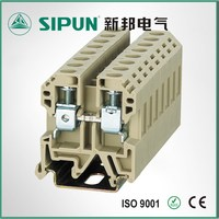 SEK 6sq din rail screw frame copper conductor electrical connector