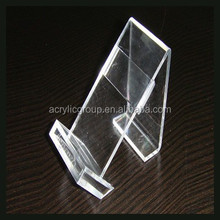 Transparent Acrylic Product Display Rack Phone Table Show Holder