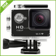 mini dv hd waterproof dv action camera wifi H.264 Dimensions 59.2*41*29.8mm