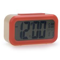 PN-1019 Digital Snooze Electronic Alarm Clock, New Cheap Table Clock , Digital Clock with Calendar Temperature