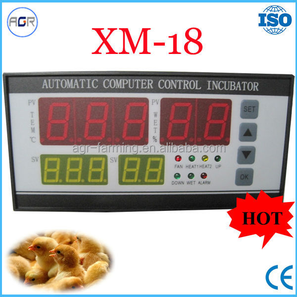 XM-18 automatic egg incubator controller with sensors
