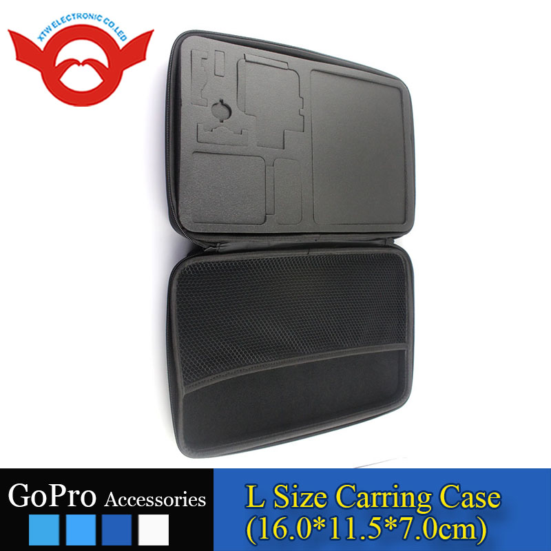 HOT Go pro Camera Bag Gopros Accessories EVA Case with Carring Strap for Go Pro Heros 3+/3/2/1 go pro hero4 accessories fashion