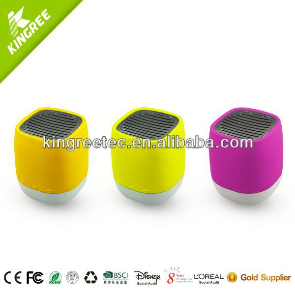 Rechargeable portable speaker for mobile for promotion