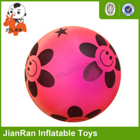 Colorful kids toys ball with various design, Eco-friendly rehearsal ball, PVC Inflatable beach ball