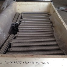 304 321 Stainless Steel Flexible High Pressure Corrugated Metal tubing