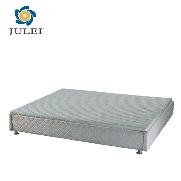 comfortable hotel gas lift storage bed base with fabric cover JL-BD02