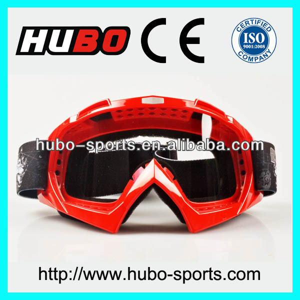 High quality printing mx goggles logo custom motorcycle goggles