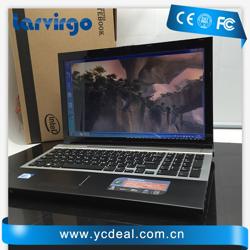 15''gaming laptop notebook computer in-tel celeron J1900 2.0Ghz Quad Core WIFI webcam DVD