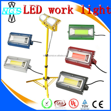 Portable luminaire LED Flood light stand portable led work light