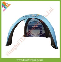 CE quality promotional spider inflatable tent price