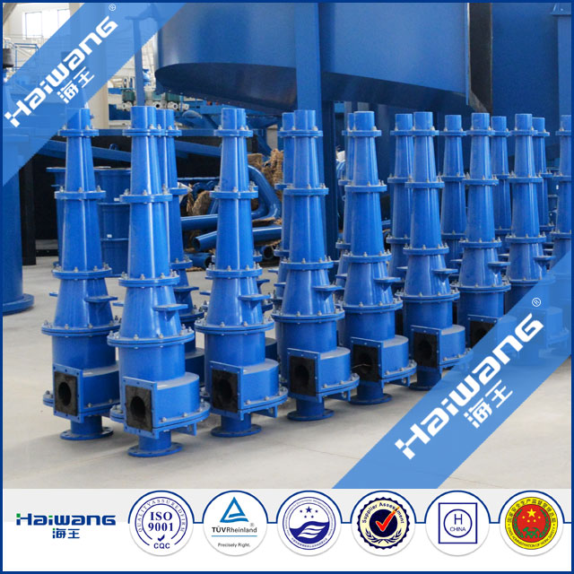 Mineral Separator / Powder Concentrator / Air Classifier With Cyclone