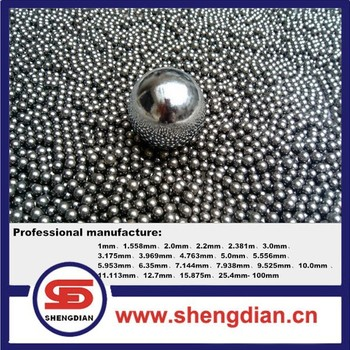 High quality chrome and carbon steel ball made in China
