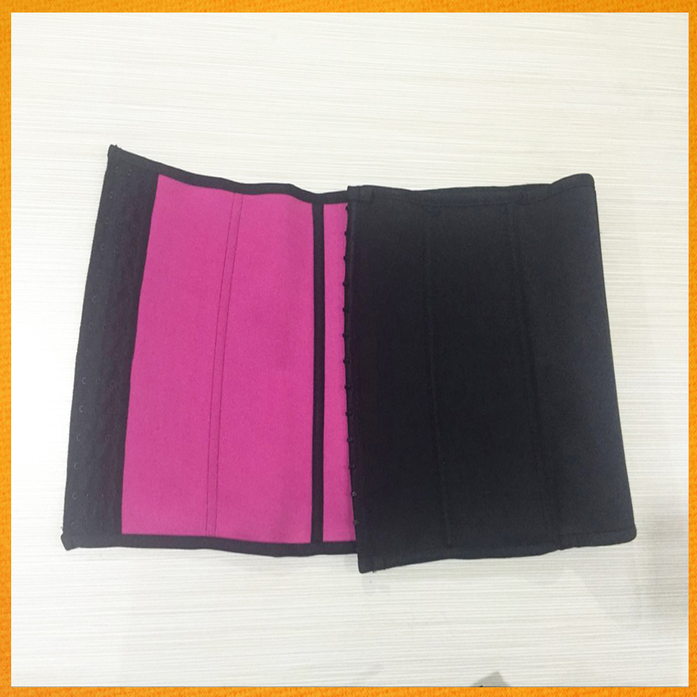 2017 most popular breathable self-adhesive abdominal binder / waist slimming belt / postpartum belly belt manufacturer GBEY-668