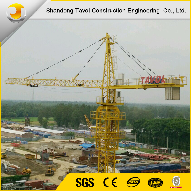 Hot sales QTZ Top kit Tower Crane with CE & ISO used for Building Construction site