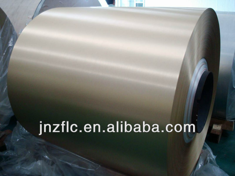 rolled aluminum color coated