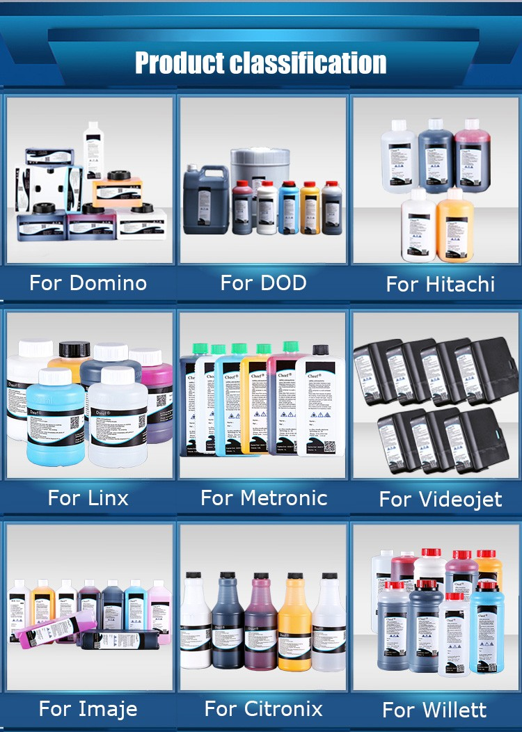 for Hitachi inkjet printer white ink for ink jet printer