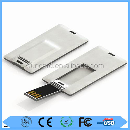 Free sample customized pendrive white