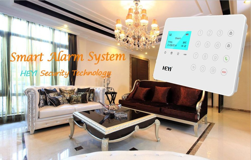 Easy to operate APP Control Home Guard Simple Safe House Security Alarm Systemsystem