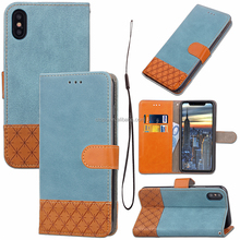 Credit Card Slots Synthetic Leather Wallet Mobile Phone Case Back Cover For Xiao mi Red mi 4