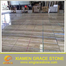 indoor tiles silver grey travertine cheap and hight quality for sale
