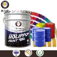 Industrial polymer coating spray for bucket