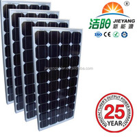 High Quality 140W PV Solar Module mono Solar Panel manufacturer