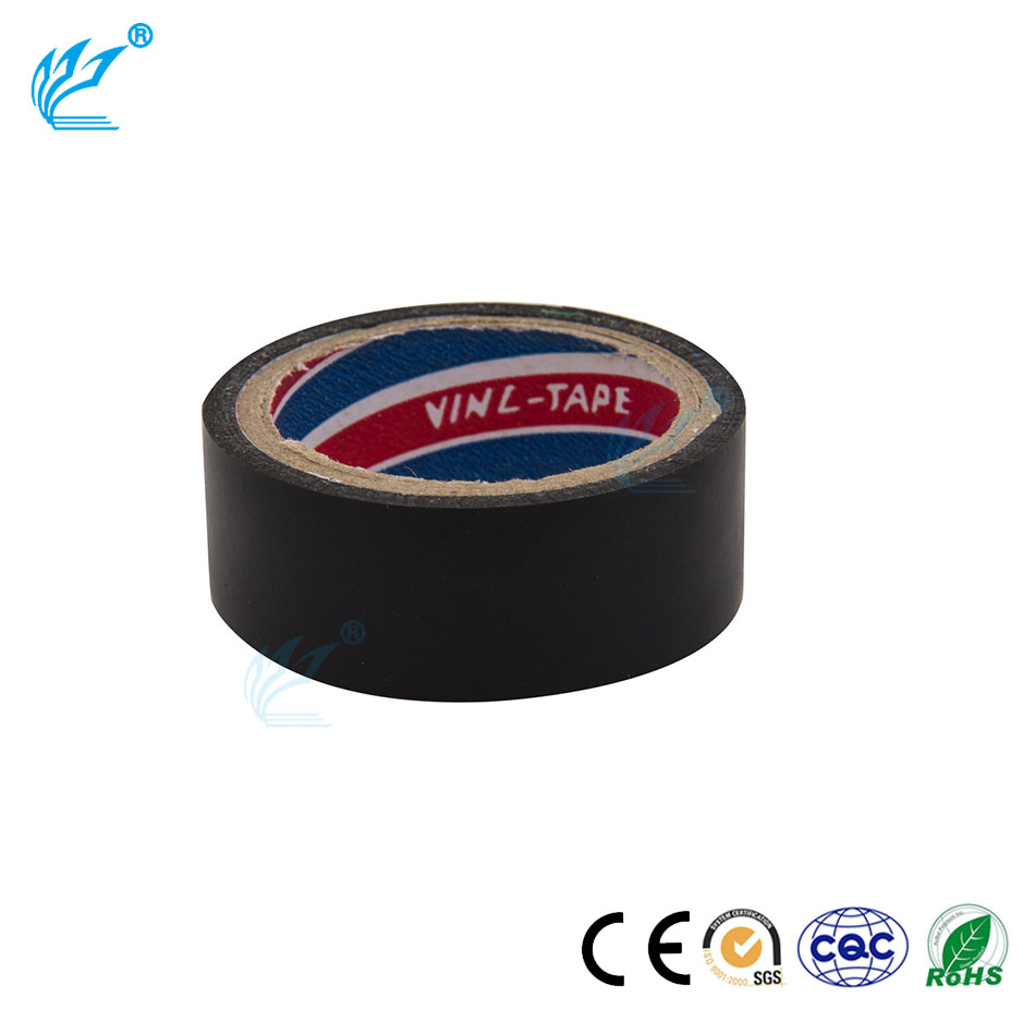 Factory wholesale Electrical use Black/White/Yellow/ Red high voltage insulation tape