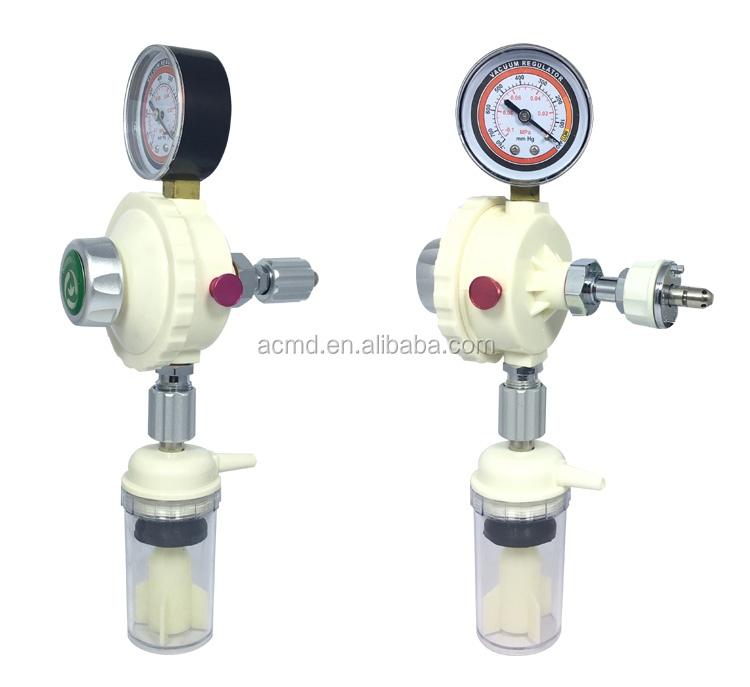ACMD High Accuracy Hospital Vacuum Regulator With Suction Bottle