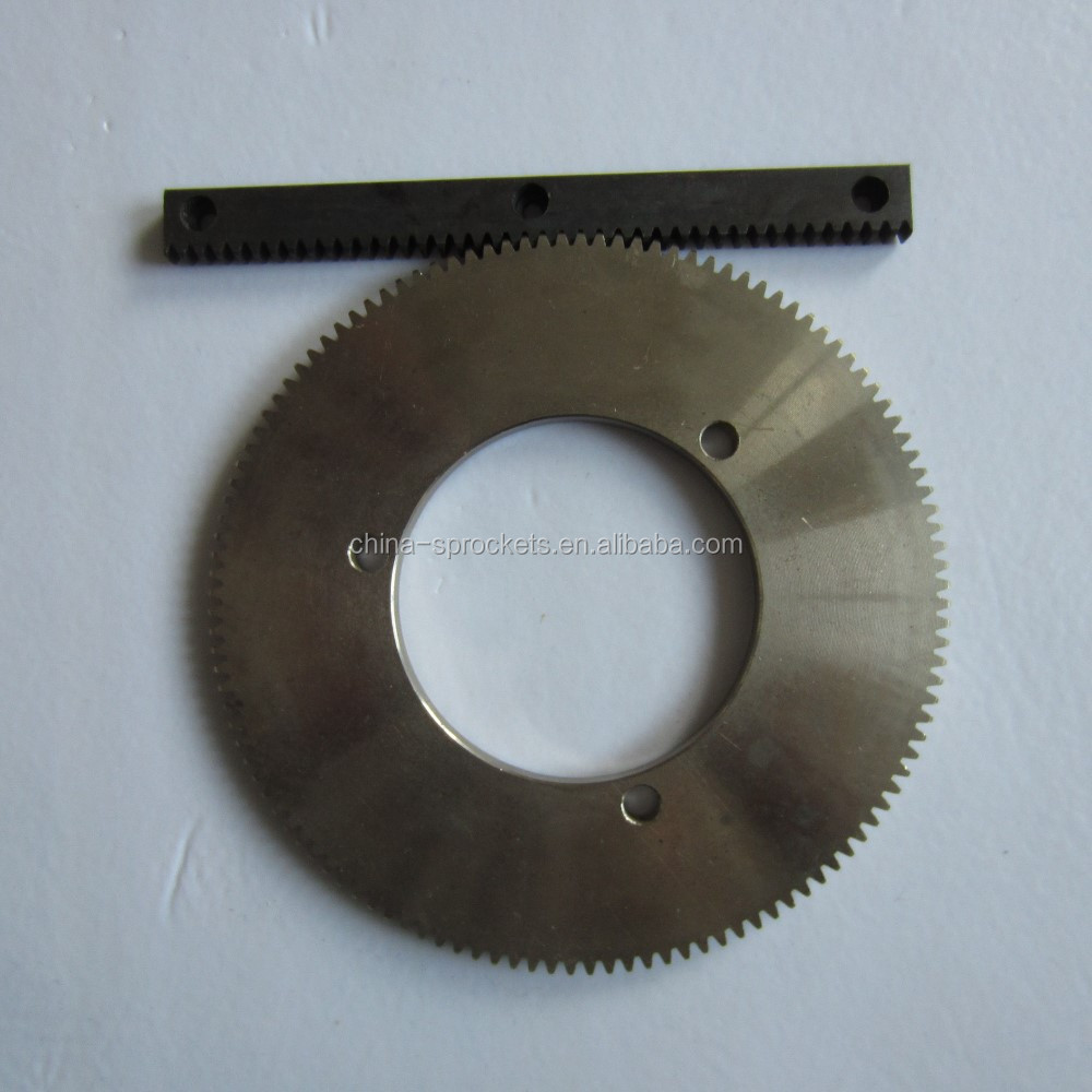 SPUR GEAR AND GEAR RACK