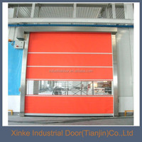 Logistic used automatic roll up door with radar/magnetic loop HSD-055