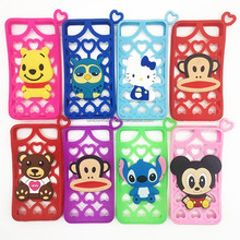 new style hot selling universal cartoon silicone phone case