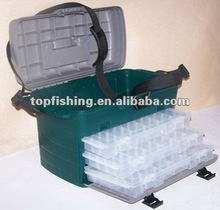 fishing plastic bait container box bucket