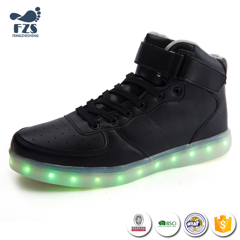 HFR-JS141041 sport leader led shoes for men