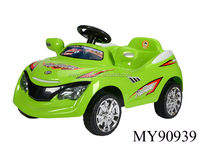 popular 6V kid ride on remote control power car different colors mix packing