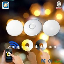 bluetooth 12w led recessed ceiling down light remote rgbw wifi led controller