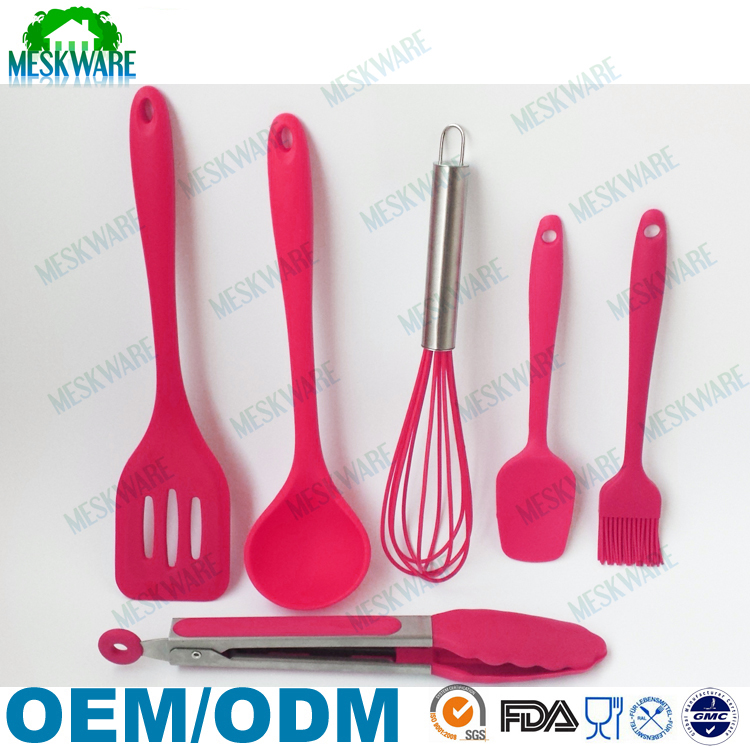 Different perfect combination names of cooking utensils, colorful kitchen utensils set, kitchen accessory set