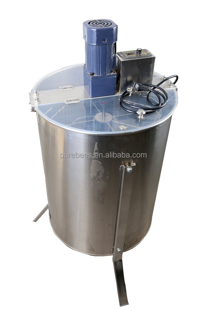 Professional 4 Frame Electric Honey Extractor Honey Separator