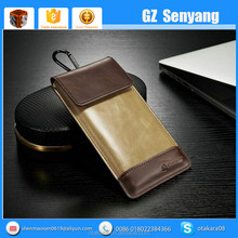 New Products Universal PU Leather Cell Phone Carry Bag