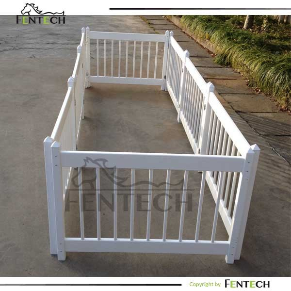 High quality pvc plastic safety closed pool fence children for Plexiglass pool fence