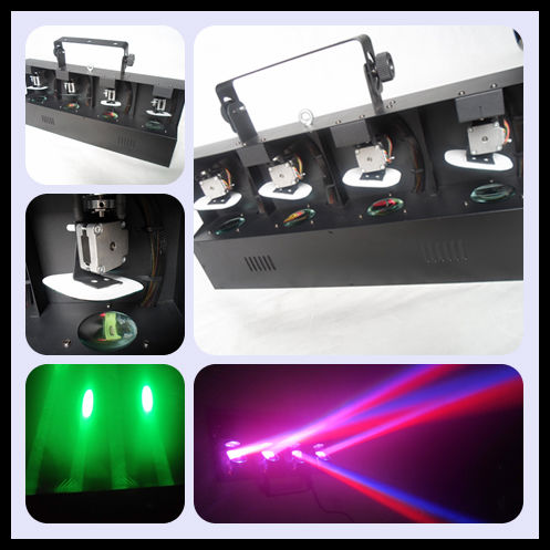 led effect lights 4*12w 4 in 1 rgbw led scan light led moving head scan light led stage lighting