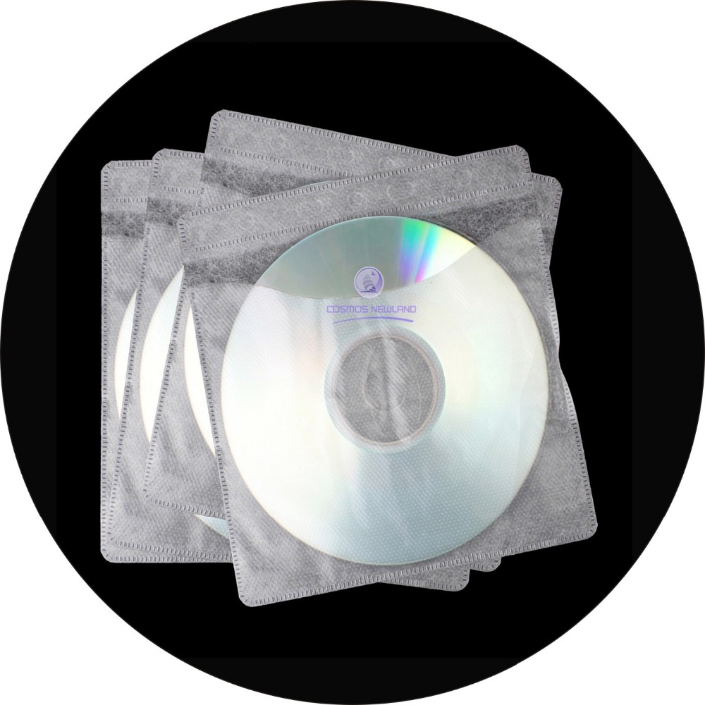 White Paper Cd Dvd Sleeves